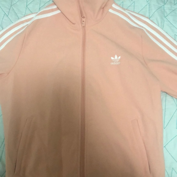 adidas Jackets & Blazers - Adidas coral jacket  never wore before